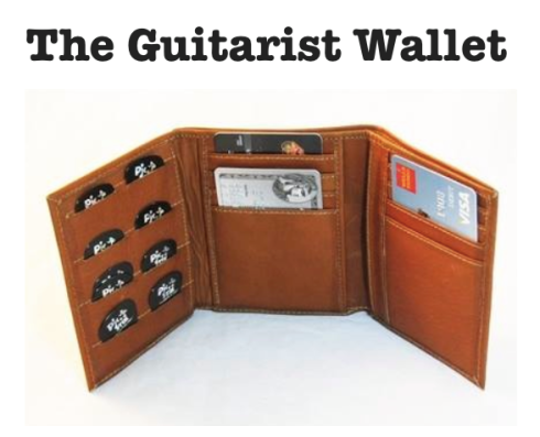 Pete Schmidt Leather Guitarist Wallet